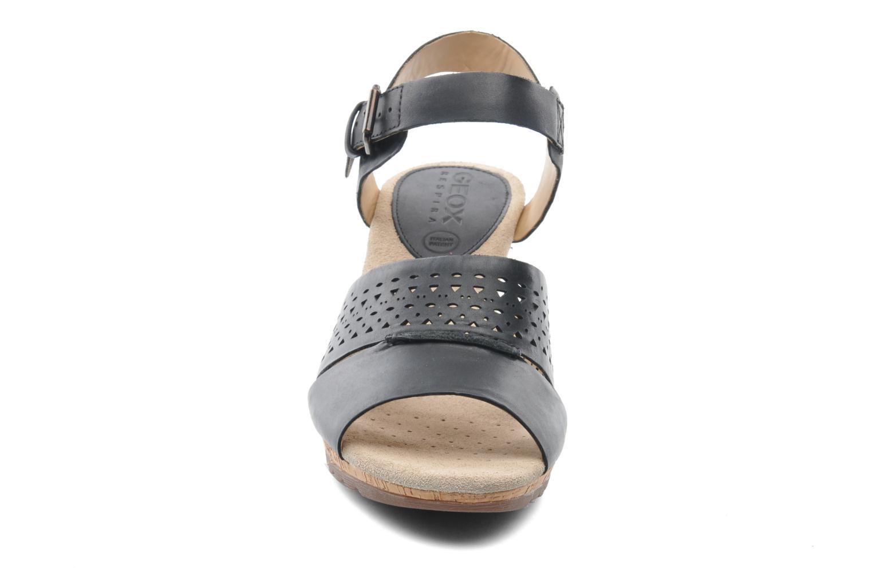 Sandalen Geox D ALIAS A D52C3A schwarz schuhe getragen
