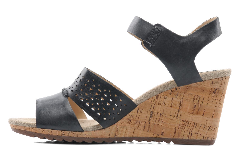 Sandals Geox D ALIAS A D52C3A Black front view