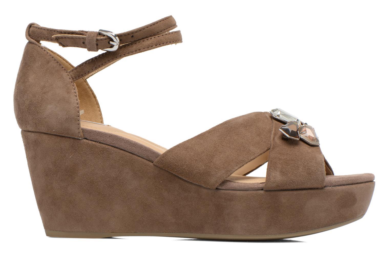 Sandales et nu-pieds Geox D THELMA A D52N9A Marron vue derrière