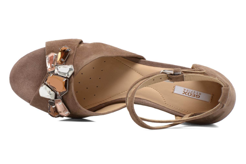 Sandales et nu-pieds Geox D THELMA A D52N9A Marron vue gauche
