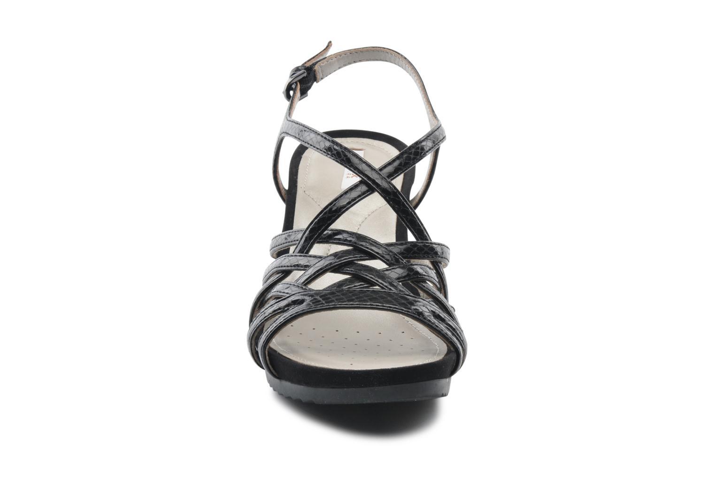 Sandalen Geox D NEW Rorie A D52P3A schwarz schuhe getragen