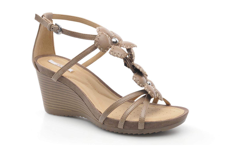 Geox D NEW Rorie E D52P3E (Beige) Sandales et nu pieds