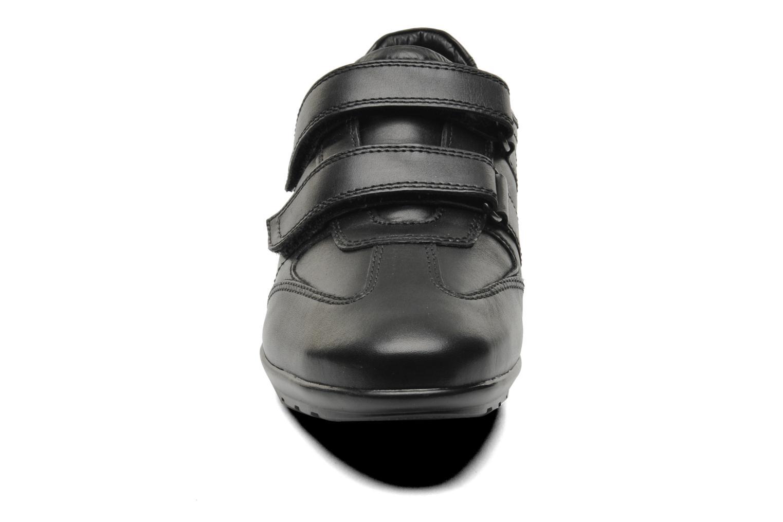 Baskets Geox U SYMBOL D U32A5D Noir vue portées chaussures