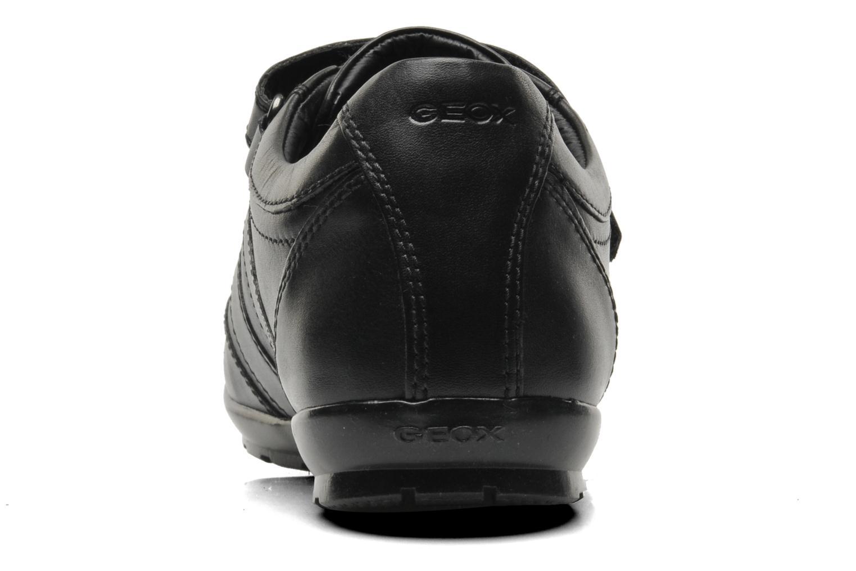 Sneaker Geox U SYMBOL D U32A5D schwarz ansicht von rechts