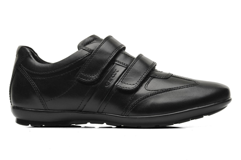 Sneaker Geox U SYMBOL D U32A5D schwarz ansicht von hinten