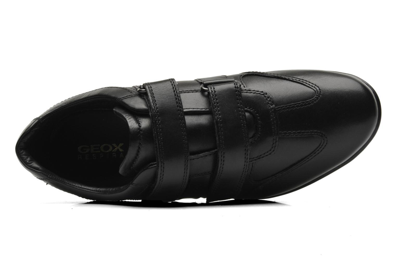 Sneaker Geox U SYMBOL D U32A5D schwarz ansicht von links
