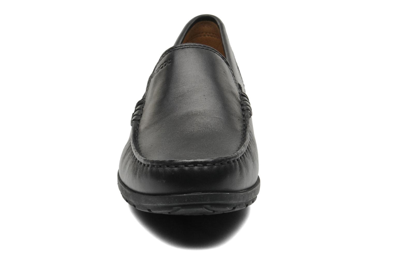 Mocassins Geox U SIMON W C U34R1C Noir vue portées chaussures