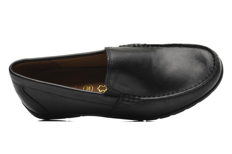 Loafers Geox U SIMON W C U34R1C Sort se fra venstre