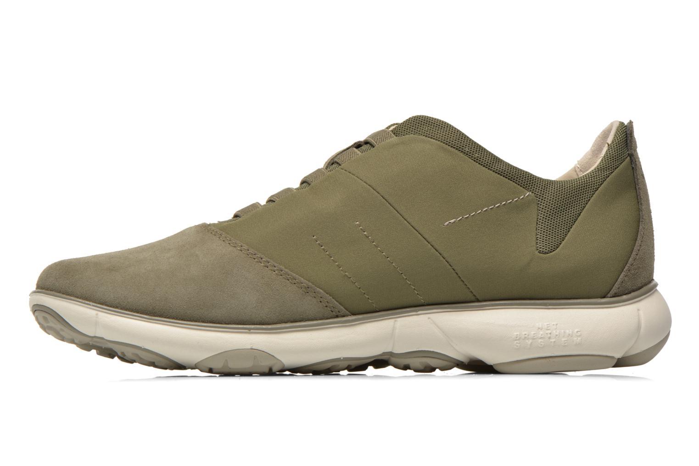 Sneakers Geox U NEBULA B U52D7B Groen voorkant
