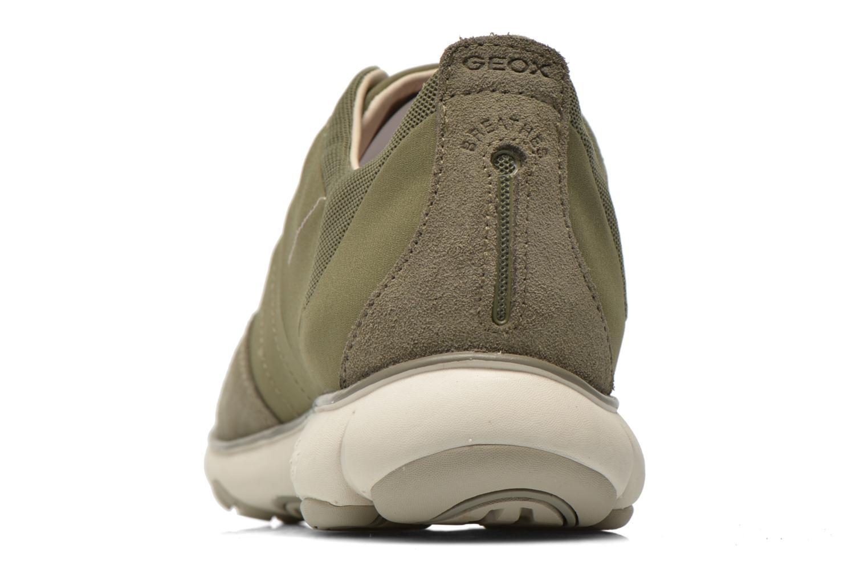 Sneakers Geox U NEBULA B U52D7B Groen rechts