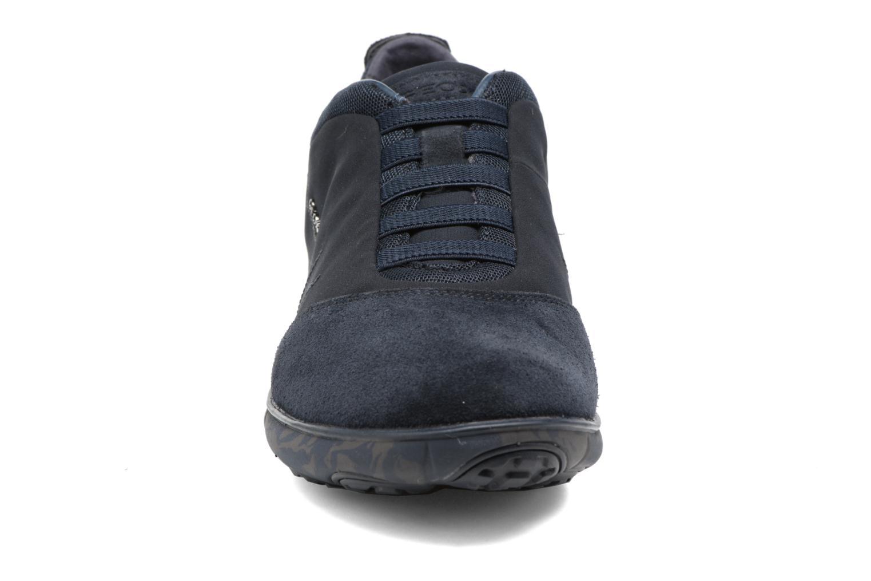 Sneaker Geox U NEBULA B U52D7B blau schuhe getragen