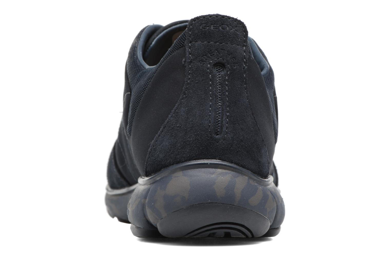 Baskets Geox U NEBULA B U52D7B Bleu vue droite