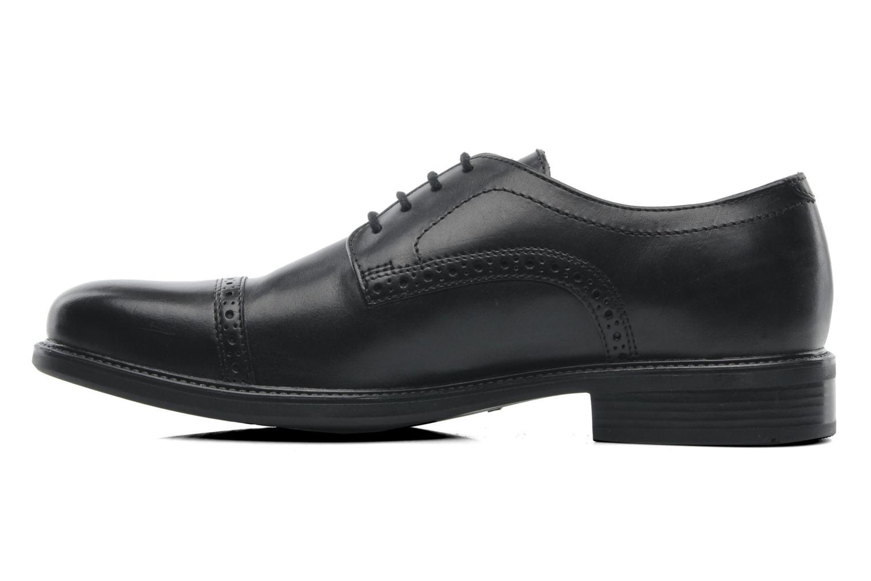 Chaussures à lacets Geox U CARNABY B U52W1B Noir vue face