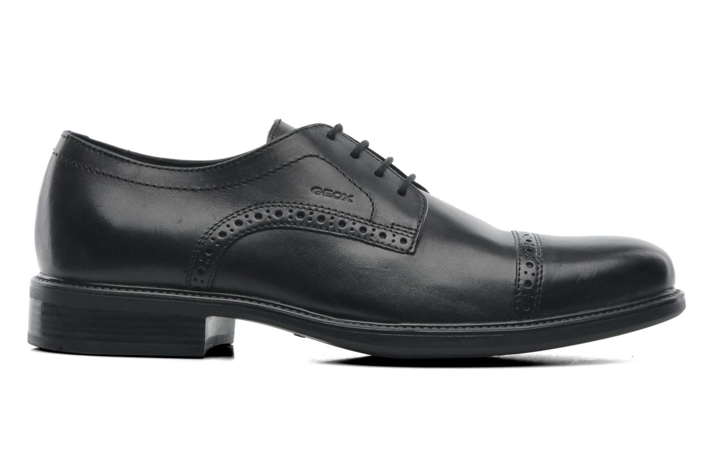 Chaussures à lacets Geox U CARNABY B U52W1B Noir vue derrière