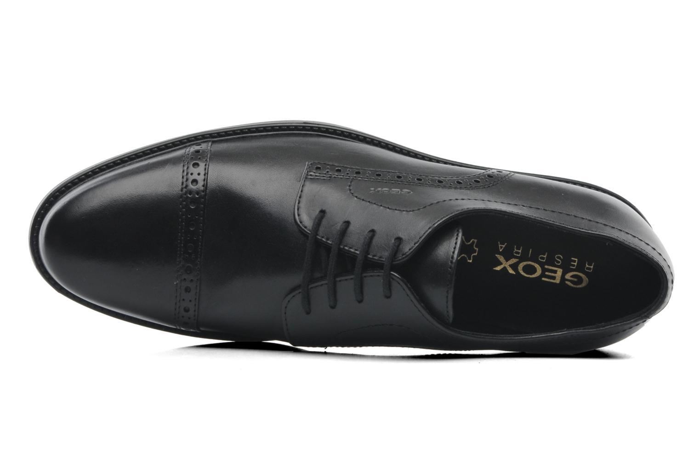 Chaussures à lacets Geox U CARNABY B U52W1B Noir vue gauche