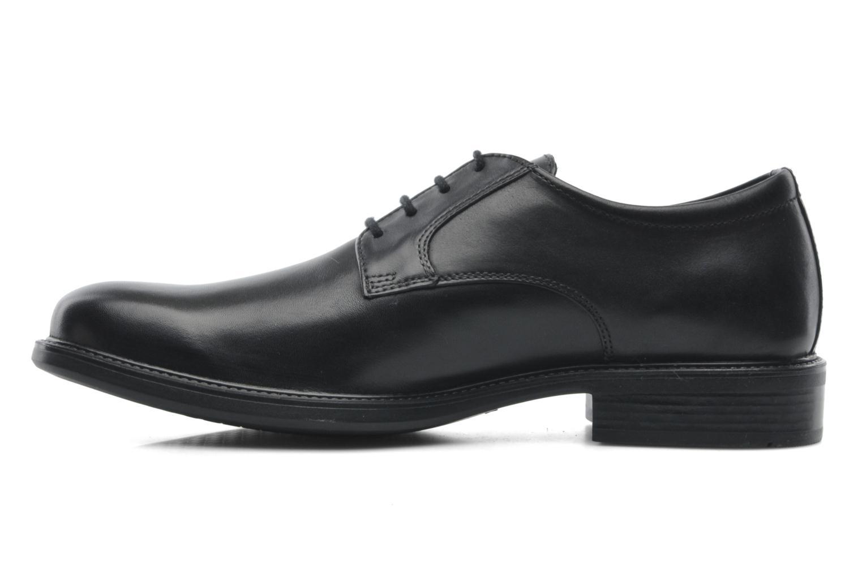 Zapatos con cordones Geox U CARNABY D U52W1D Negro vista de frente