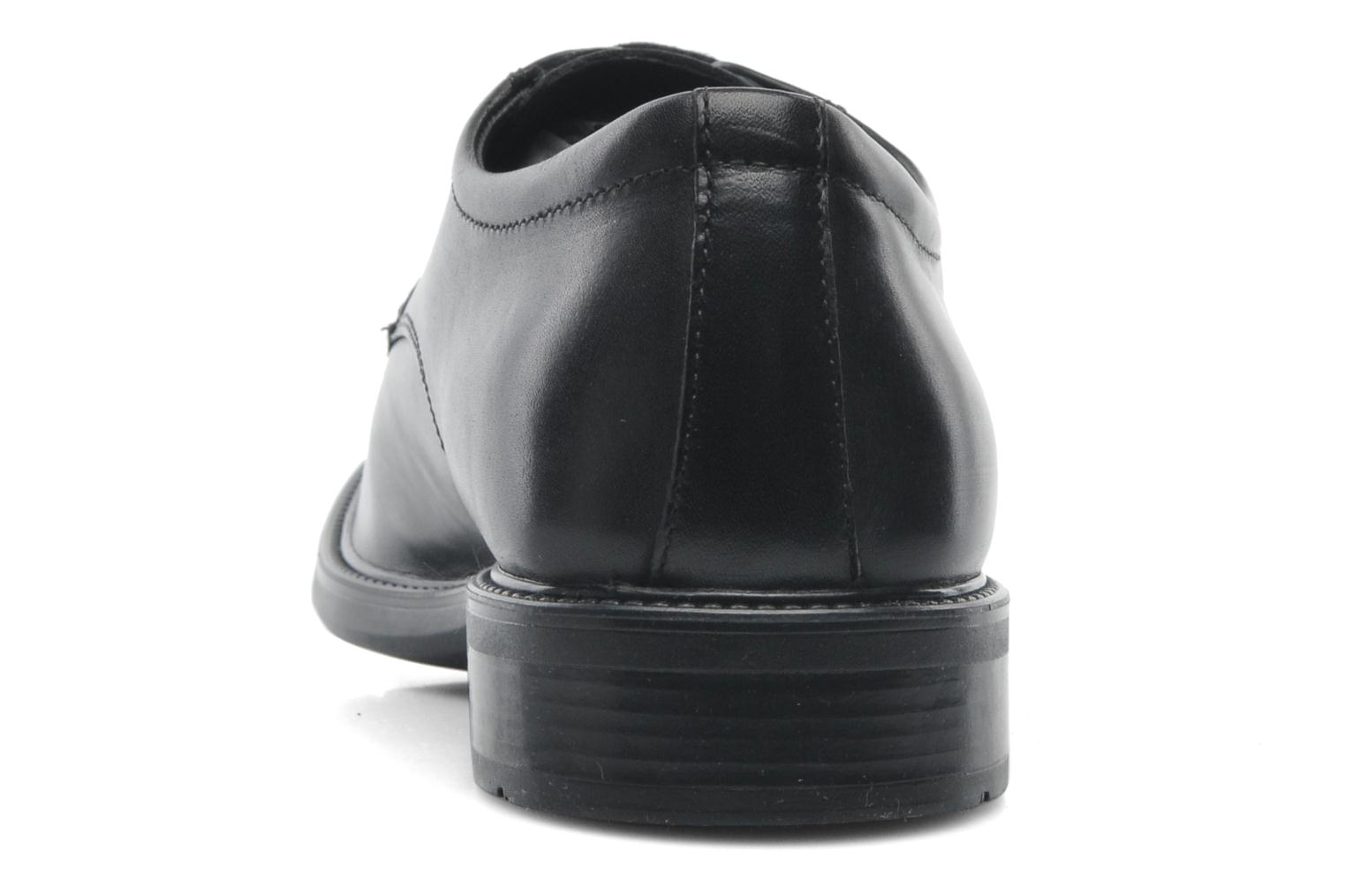Lace-up shoes Geox U CARNABY D U52W1D Black view from the right