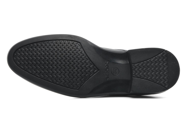 Zapatos con cordones Geox U CARNABY D U52W1D Negro vista de arriba
