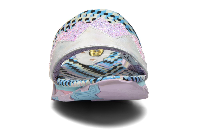 Clogs & Pantoletten Irregular Choice ICED Slide Away PE15 mehrfarbig schuhe getragen
