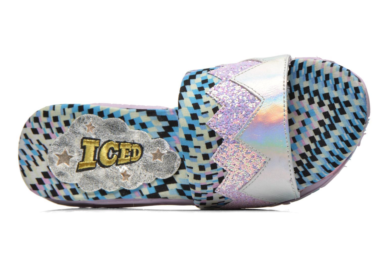 Clogs & Pantoletten Irregular Choice ICED Slide Away PE15 mehrfarbig ansicht von links