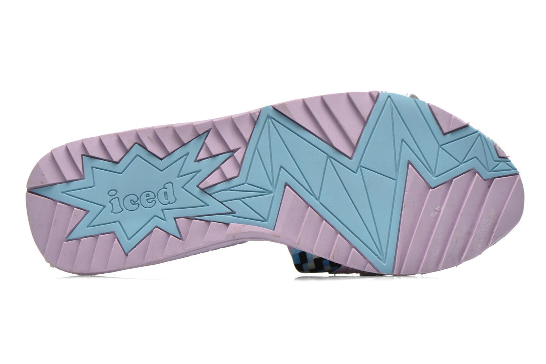 Wedges Irregular Choice ICED Slide Away PE15 Multicolor boven