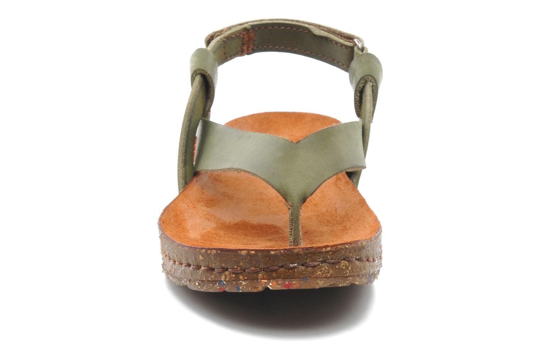 Sandalen Art Creta 446 grün schuhe getragen