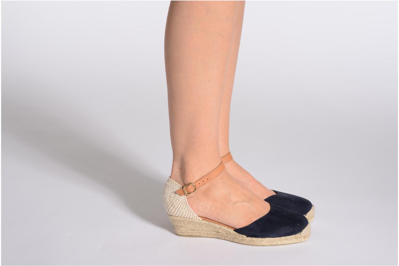 Sandales et nu-pieds Maypol Macaret Beige vue bas / vue portée sac