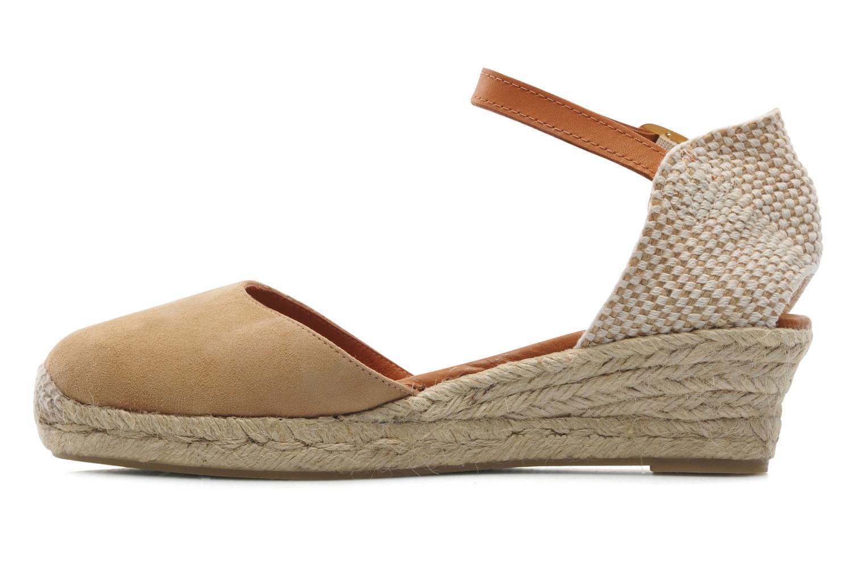 Sandales et nu-pieds Maypol Macaret Beige vue face