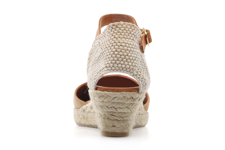 Sandales et nu-pieds Maypol Macaret Beige vue droite