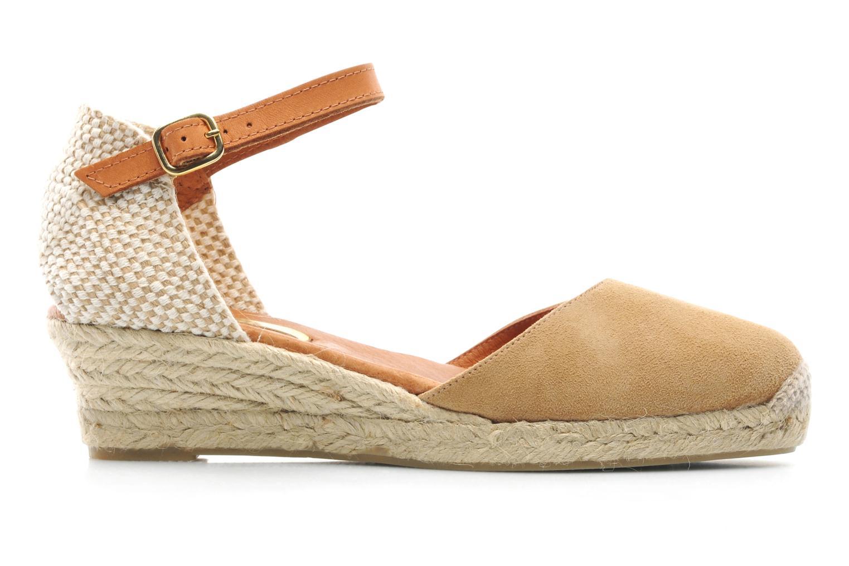 Sandales et nu-pieds Maypol Macaret Beige vue derrière