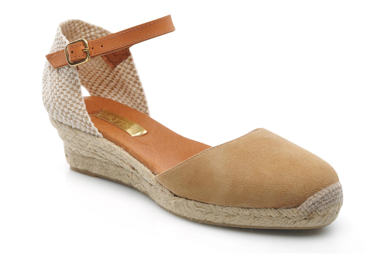 Sandales et nu-pieds Maypol Macaret Beige vue détail/paire