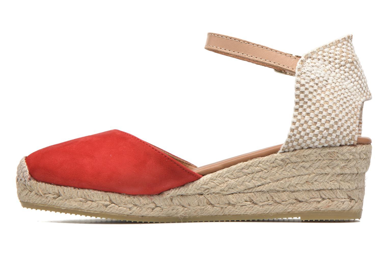 Sandales et nu-pieds Maypol Macaret Rouge vue face