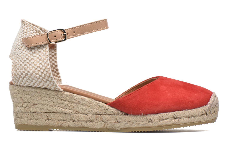 Sandalen Maypol Macaret rot ansicht von hinten