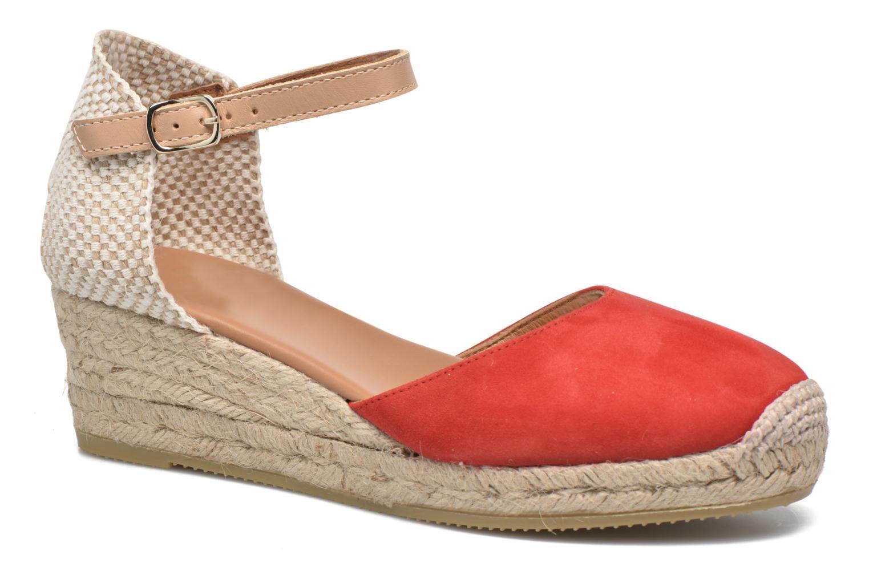 Sandales et nu-pieds Maypol Macaret Rouge vue détail/paire