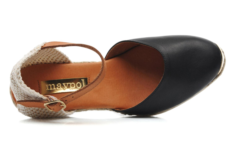 Sandali e scarpe aperte Maypol Luz Nero immagine sinistra