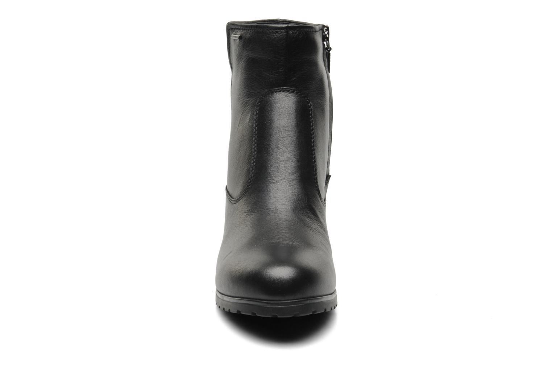 Bottines et boots Geox D Mayfair ABX C D448C Noir vue portées chaussures