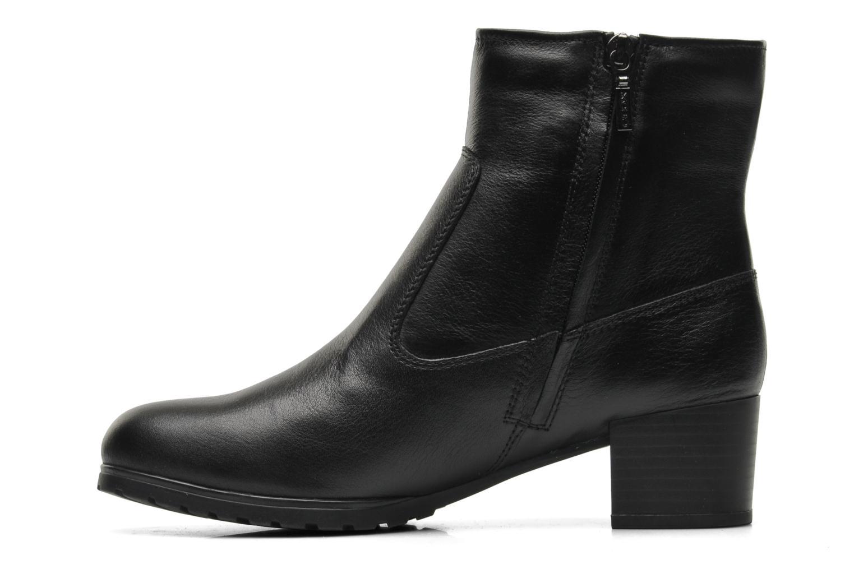 Bottines et boots Geox D Mayfair ABX C D448C Noir vue face