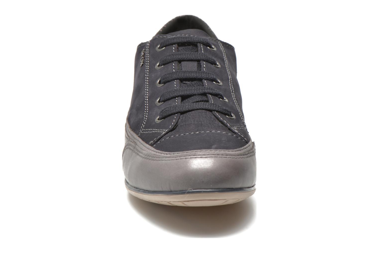 Sneakers Geox D New Moena A D4260A Azzurro modello indossato