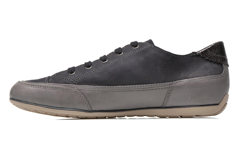 Sneakers Geox D New Moena A D4260A Azzurro immagine frontale