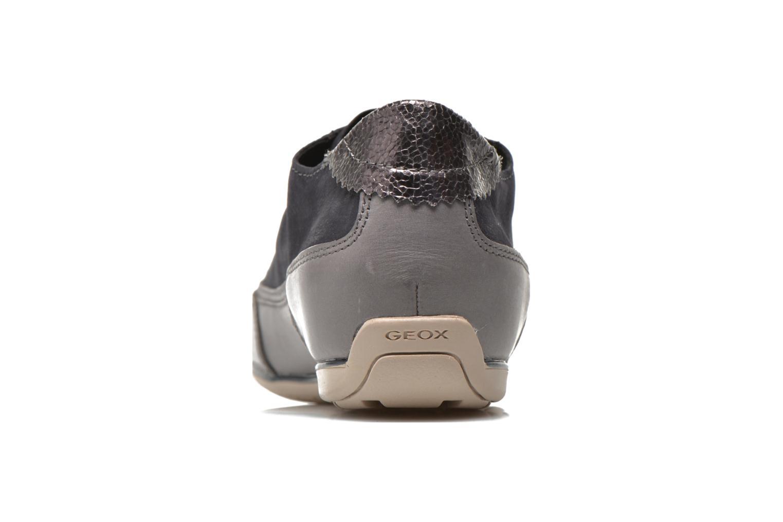 Sneakers Geox D New Moena A D4260A Azzurro immagine destra