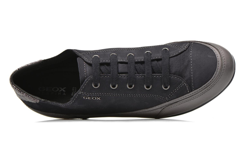 Sneakers Geox D New Moena A D4260A Azzurro immagine sinistra