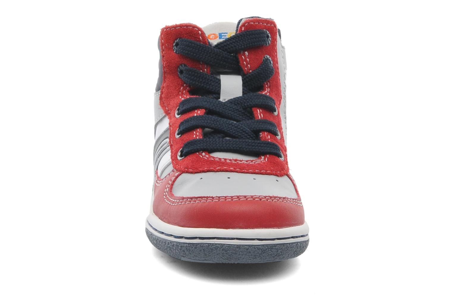 Sneakers Geox Baby Flick Boy A B4437A Rood model