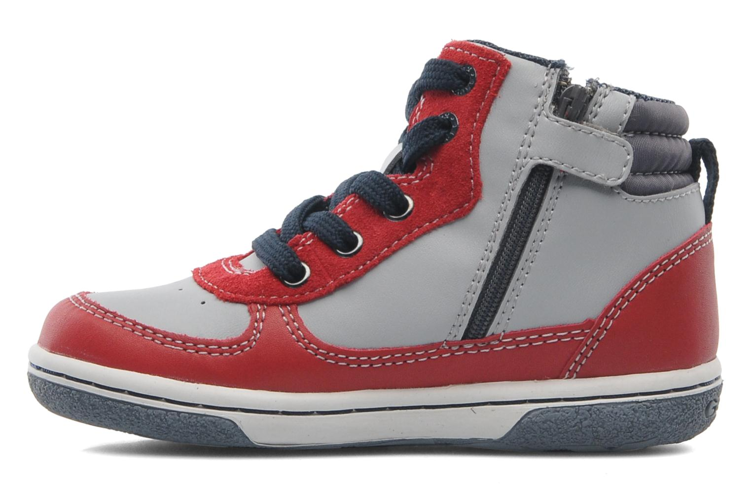 Sneakers Geox Baby Flick Boy A B4437A Rood voorkant
