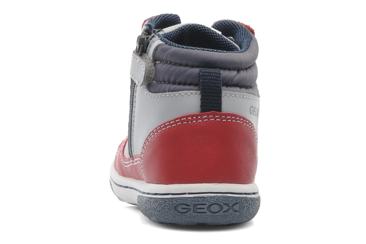 Baskets Geox Baby Flick Boy A B4437A Rouge vue droite