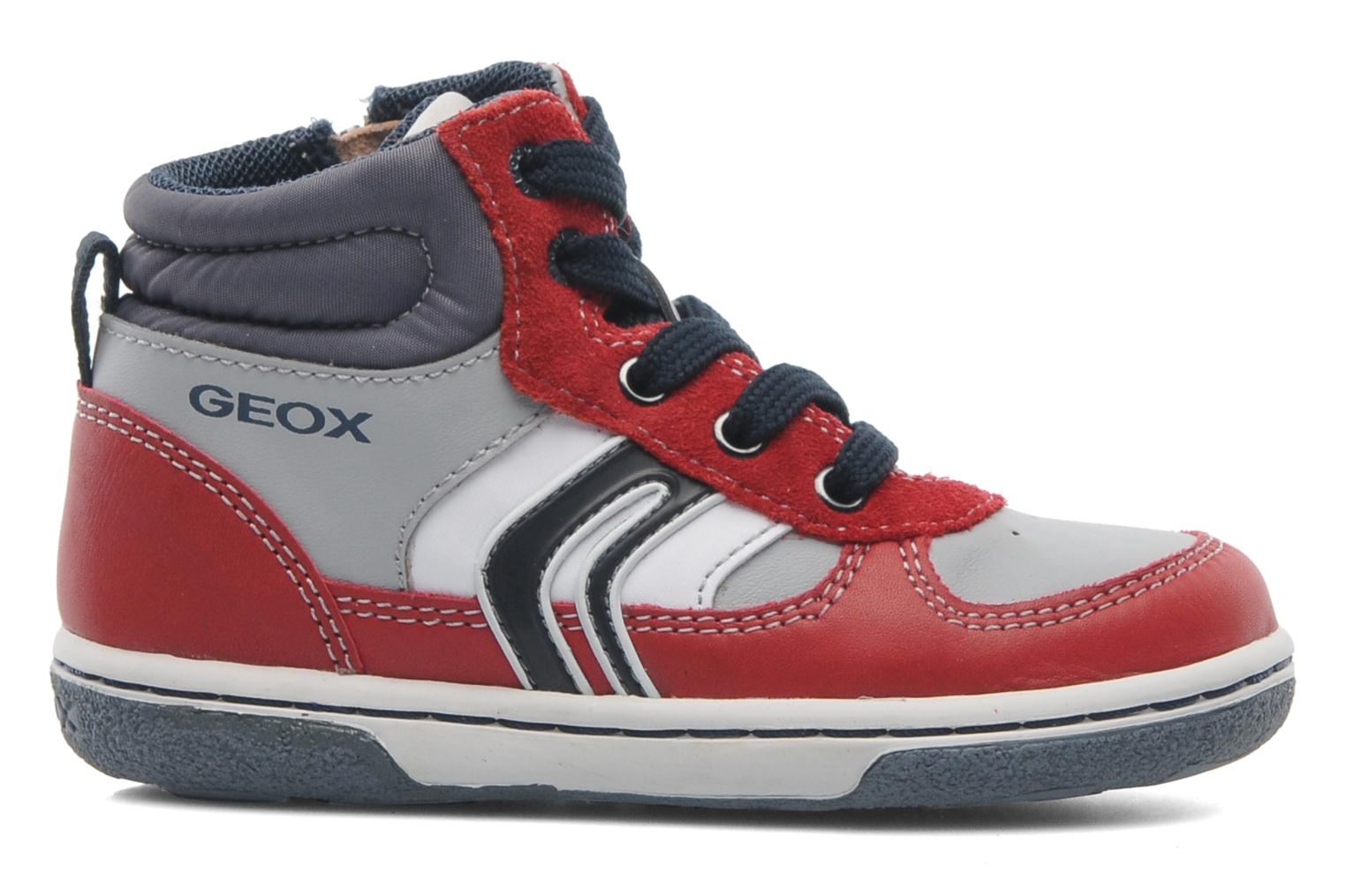Sneakers Geox Baby Flick Boy A B4437A Rood achterkant