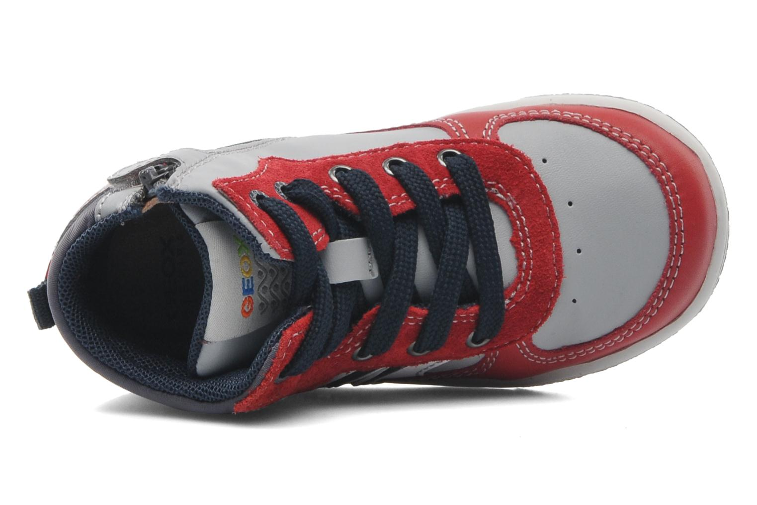 Sneakers Geox Baby Flick Boy A B4437A Rood links