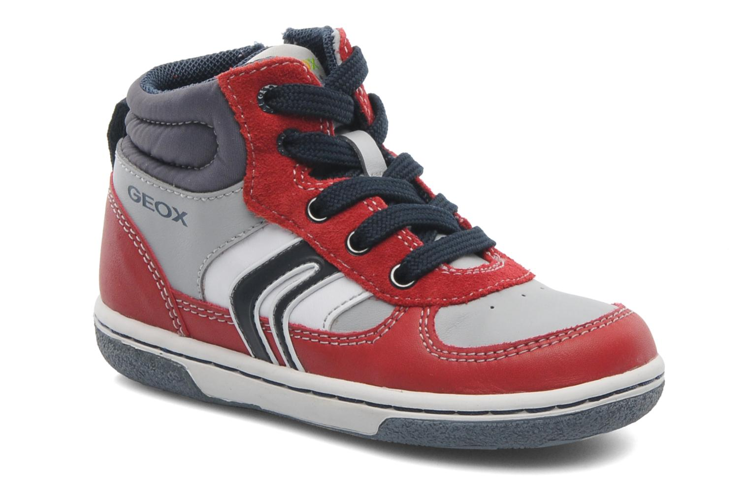 Sneakers Geox Baby Flick Boy A B4437A Rood detail