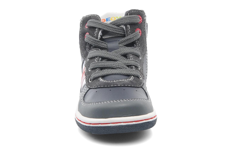 Baskets Geox Baby Flick Boy A B4437A Bleu vue portées chaussures