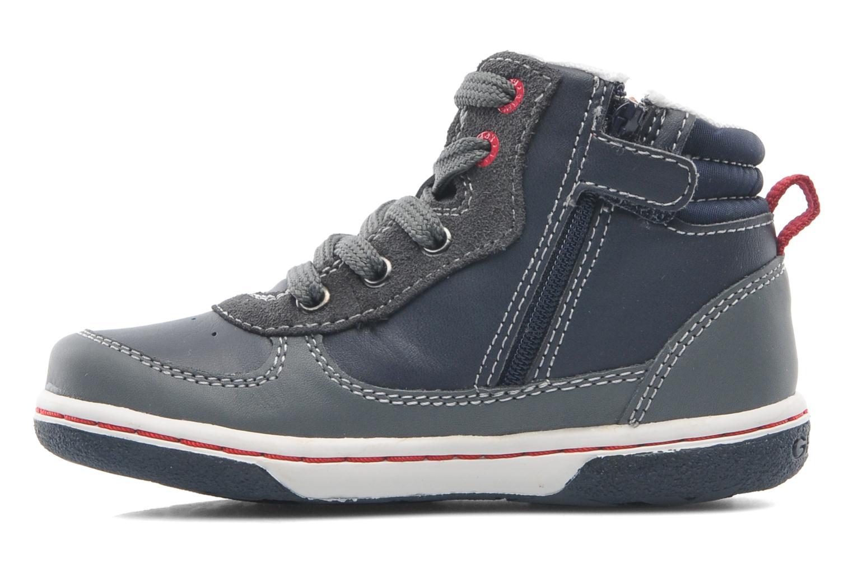 Sneaker Geox Baby Flick Boy A B4437A blau ansicht von vorne