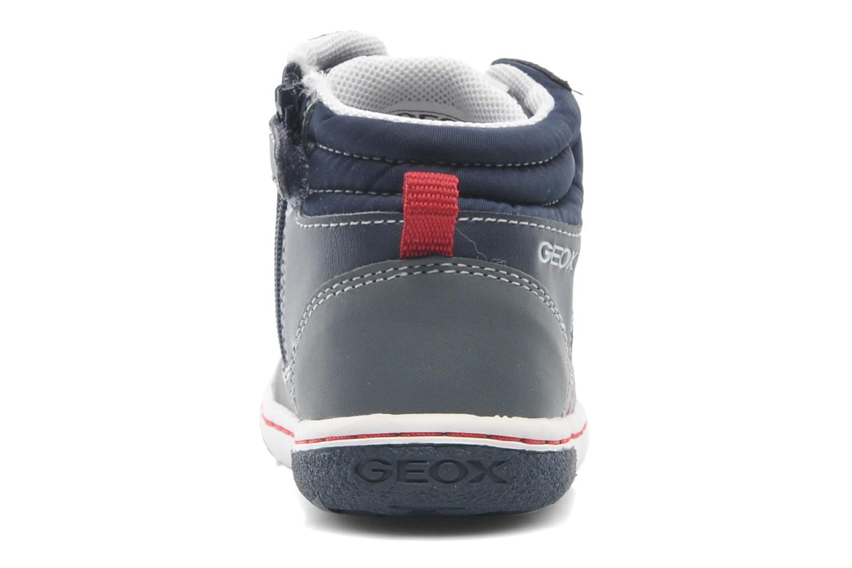 Baskets Geox Baby Flick Boy A B4437A Bleu vue droite